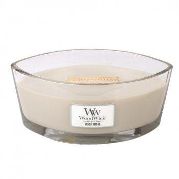 Ароматична свічка WoodWick Ellipse Wood Smoke 453 р