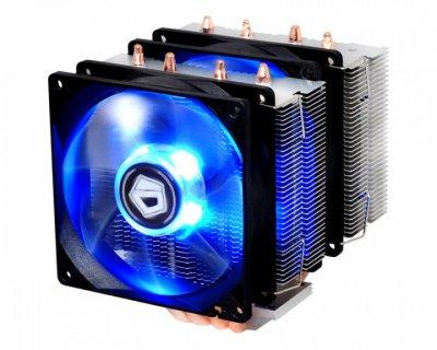 Кулер процесорний ID-Cooling SE-904TWIN, Intel: 1200/2011/1366/1151/1150/1155/1156, AMD: FM2+/FM2/FM1/AM3+/AM3/AM2+/AM2, 100х121.9х124 мм, 4-pin