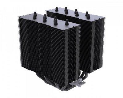 Кулер процесорний ID-Cooling SE-207 Black, Intel: 2066/2011/1200/1150/1155/1156, AMD: AM4/FM2+/FM2/FM1/AM3+/AM3/AM2+/AM2, 122x139x159 мм, 4-pin
