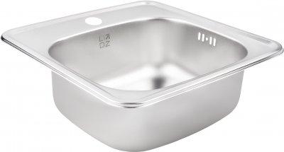 Кухонная мойка Lidz 3838 Decor 0.6 мм (LIDZ3838DEC06)