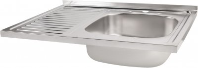 Кухонная мойка Lidz 6080-R Satin 0.8 мм (LIDZ6080RSAT8)