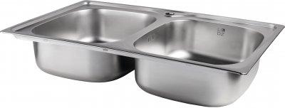 Кухонная мойка Lidz 7948 Satin 0.8 мм (LIDZ7948SAT8)