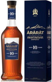 Бренді ARARAT Ахтамар 10 років витримки 0.5 л 40% в подарунковій упаковці (4850001002024)