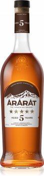 Бренді ARARAT 5 років витримки 1 л 40% (4850001004851)