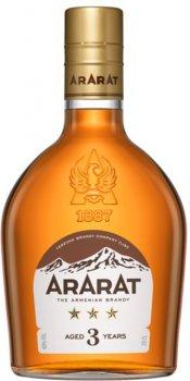 Бренді ARARAT 3 роки витримки 0.2 л 40% (4850001003427)
