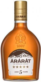 Бренді ARARAT 5 років витримки 0.2 л 40% (4850001003434)