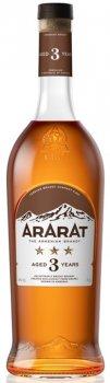 Бренді ARARAT 3 роки витримки 0.7 л 40% (4850001001911)