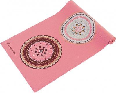 Дизайнерський килимок для йоги ProSource Satya Yoga Mat 183 х 61 см 5 мм Рожевий (ps-1926 satya)