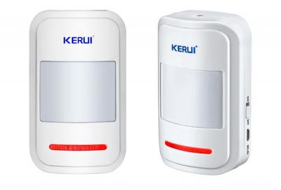 Бездротовий датчик руху KERUI K1 для GSM сигналізації білий