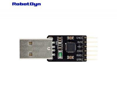 Конвертер USB-TTL CP2102 Robotdyn