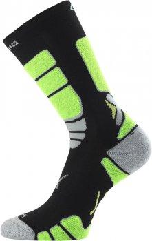 Шкарпетки Lasting ILR чорні/жовті