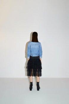 Жіноча джинсова куртка Miss Sixty блакитний 603WJ4550000F25