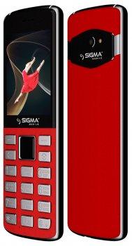 Мобильный телефон Sigma mobile X-style 24 ONYX Red (4827798324622)
