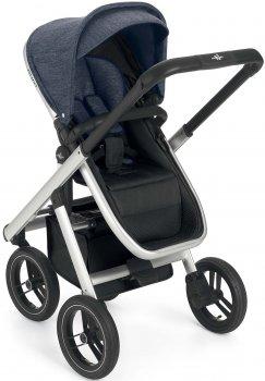 Универсальная коляска 3 в 1 Neonato Puro Solid Синяя (N902-T738) (8005549069022)