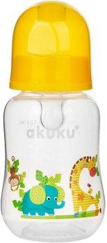 Бутылочка Akuku A0004 Yellow 0+ 125 мл (Akuku A0004) (5907644000043)