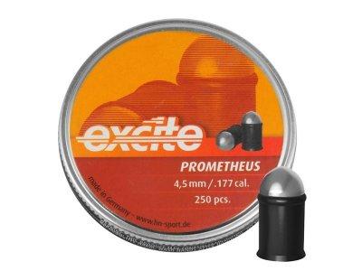 Свинцеві кулі H&N Excite Prometheus 4,5 мм 0,39 г 250 шт (1453.02.47)