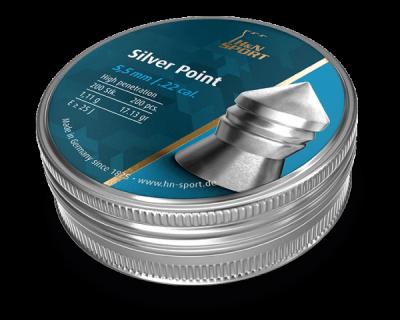 Свинцеві кулі H&N Silver Point 5,5 мм 1,11 г 200 шт (1453.02.89)
