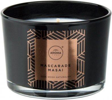 Ароматична свічка з натурального воску Aroma Home Elegance Mascarade Masai 115 г (5902846835189)
