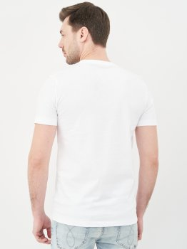 Футболка Calvin Klein Jeans Mirror Logo Slim Fit Tee J30J317063-YAF Ck White