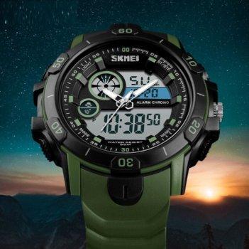 Чоловічі годинники Skmei Green