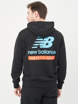 Худі New Balance Ess Field Day MT11514BK Чорне