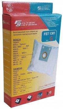 Багаторазовий мішок Filter Systems FST 1301 (аналог Type G) для пилососів BOSCH / SIEMENS / KARCHER / PRIVILEG / PROGRESS / RAINFORD / UFESA
