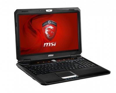 Ноутбук MSI MS-16FK-AMD A10-4600M-2.30GHz-4Gb-DDR3-500Gb-HDD-W15.6-Web-DVD-R-AMD Radeon HD 7970(2Gb) Б/В