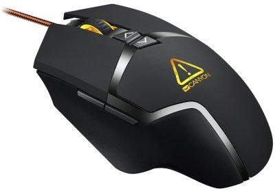 Ігрова миша з підсвіткою Canyon Tantive Black (CND-SGM4E)