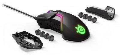 Провідна ігрова миша з підсвіткою SteelSeries Rival 600 Black (62446)