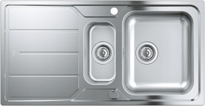 Кухонна мийка GROHE Sink K500 31572SD0 зі змішувачем Eurostyle Cosmopolitan 31482003