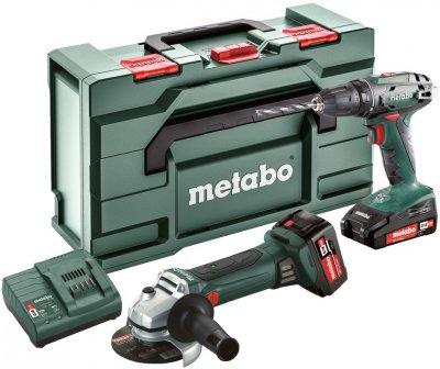 Набор аккумуляторных инструментов Metabo Combo Set 2.4.3 18 V (685082000)