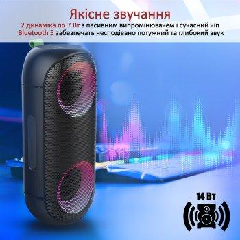 Акустична система Vertux Rumba 14 Вт IPX6 Black (rumba.black)