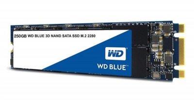 SSD накопичувач 250GB WD Blue M. 2 2280 SATAIII 3D TLC (WDS250G2B0B)