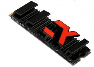 SSD накопичувач 500GB GOODRAM Iridium Ultimate X M. 2 2280 PCIe NVMe 4.0 x4 3D TLC (IRX-SSD накопичувач PR-P44X-500-80)