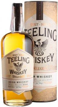 Виски Teeling Single Grain 6уо 0.7 л 46% в подарочной коробке (5391523270175)