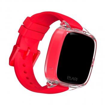 Дитячі смарт-годинник Elari KidPhone Fresh Red з GPS-трекером (KP-F/Red)