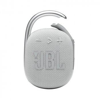 Портативна акустика JBL Clip 4 White (JBLCLIP4WHT)