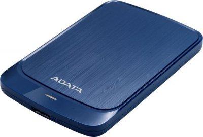 """Накопичувач зовнішній HDD 2.5"""" USB 2.0 TB A-DATA HV320 Blue (AHV320-2TU31-CBL)"""