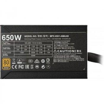 Блок живлення CoolerMaster MWE 650 Bronze V2 650W (MPE-6501-ACAAB-EU)