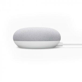 Розумна акустика з голосовим асистентом GOOGLE Mini Nest Chalk