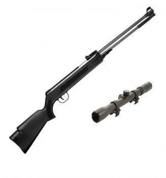 Пневматична гвинтівка SPA WF600(P) з посиленою газовою пружиною + приціл 4х20
