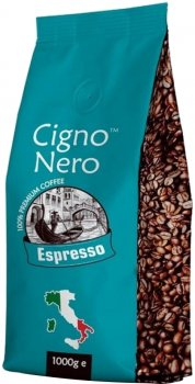 Кава в зернах Cigno Nero Espresso 1 кг (4820154091213)