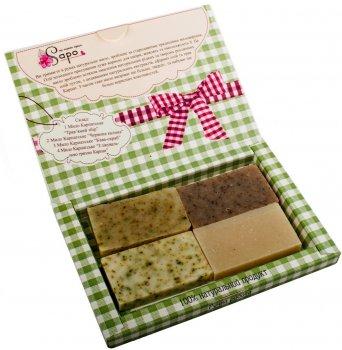 Подарочный набор мыла Sapo Любовь 200 г (ROZ6206101062/4820229120671)