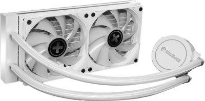 Система рідинного охолодження Xilence LiQuRizer 240 White ARGB (XC974)