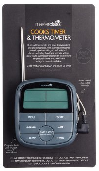 Термометр KitchenCraft Master Class с таймером (593962)