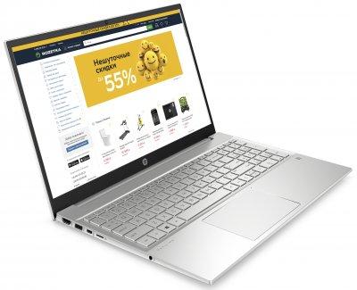 Ноутбук HP Pavilion Laptop 15-eh0051ur (34Q69EA) Silver
