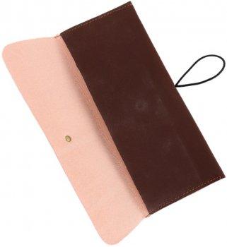 Пенал из искусственной кожи Traum 7002-13 Темно-коричневый (4820007002137)