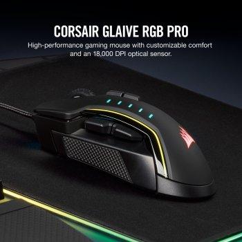 Мышь Corsair Glaive RGB Pro Black (CH-9302211-EU)