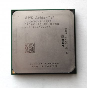 Процесор AMD Athlon II X4 630 2,8 GHz sAM3 Tray 95w (ADX630WFK42GI ADX630WFK42GM) Propus Б/У