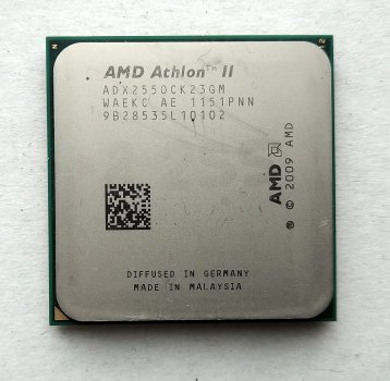 Процесор AMD Athlon II X2 255 3,1 GHz sAM3 Tray (ADX255OCK23GQ ADX255OCK23GM) Regor Б/У